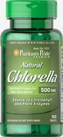 Puritan's Pride Natural Chlorella 500 mg - 120 Tablets