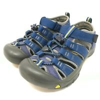 Keen Boys Newport H2 Water Shoes Size 11.5 Hiking Sandals Blue