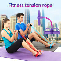 2019 Multi-Function Premium Tension Rope Fitness Pedal Exerciser Rope Pull Bands