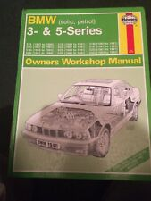 HAYNES WORKSHOP MANUAL 1948 , BMW 3- & 5 - SERIES .