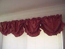 Rose Pink Water Tafetta Austrian Balloon Curtain Window Valance 280cm x 45cm