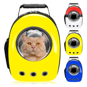 Breathable Astronaut Pet Cat Dog Backpack Puppy Carrier Bag Space Capsule Travel