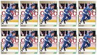 (10) 1991-92 Score Young Superstars Hockey #20 Joe Sakic Card Lot Nordiques