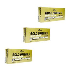 83,60€/kg - Olimp Omega 3 Gold Sport edition (3 x 120 Kapseln Set)