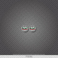 07332 Alan Bicycle Head Badge Sticker - Decal - Transfer