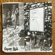 "Bill Mason Band - Out On The Streets UK 1979 7"" PS Kingsway Recs. Punk"