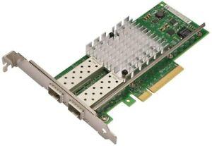 Intel X520-DA2 10GB Dual Port Ethernet Network Adapter VFVGR XYT17 74-8814-01
