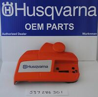 HUSQVARNA OEM 537286301 CLUTCH  COVER WITH CHAINBRAKE for RANCHER 455 460