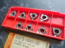8 Insertos Sandvik Roscado R166.0L-16WH01-100 S10T (R166 55 GRADOS BSW Int 10tpi
