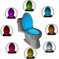 Toilet Night Light Motion Activated Sensor Bowl LED Sensor Bathroom Lamp