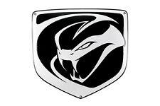 Enamel plaque  DODGE VIPER 40x43 cm WARRANTY emblem sign logo plate