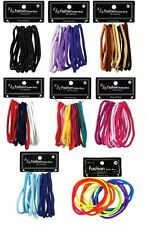 Stretchy Ponytail Holders Girls Hair Elastics bands 24 Pieces No Metal Outchless