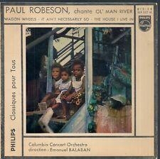 EP 4 TITRES JAZZ--PAUL ROBESON--OL' MAN RIVER / WAGON WHEELS