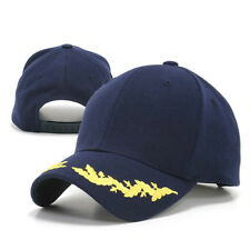 Navy Blue Scrambled Egg Eggs Oak Leaf Visor Military Officer's Baseball Cap Hat