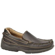 Florsheim Boys Brown Slip On Boys Leather Loafer Shoes Boys Size 1