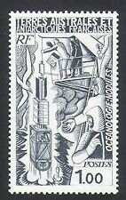 FSAT/TAAF 1977 Ship/Ocean Exploration/Probe/Science/Scientists 1v (n23487)