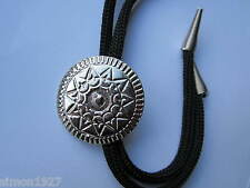 Bolo Tie Indien Bouclier Design country et western ou rock and roll WEAR.
