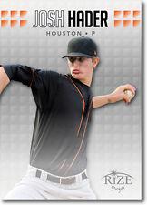 2013 Rize Draft Baseball (10) CARD LOT 30 Josh Hader
