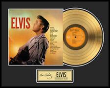 """ELVIS """"ELVIS"""" SAME GOLDENE SCHALLPLATTE LIMITED EDITION"""