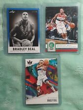 (3 CARD LOT) BRADLEY BEAL 2013 LEAF RC 7/10 🔥 19-20 COURT KINGS RED 26/149...