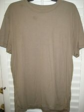 Euc- Men's Polarmax Base Layer Brown Short Sleeve Polyester T-Shirt Size-Large