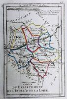 Indre et Loire en 1794 Preuilly Richelieu Montrésor Amboise Bléré Azay Bourgueil