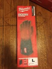 New Large - Milwaukee 561-21L USB Rechargeable Heated Work Gloves
