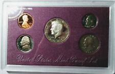 San Francisco Mint Proof Coin Set 1989 Honoring 5 US Presidents/Specifications