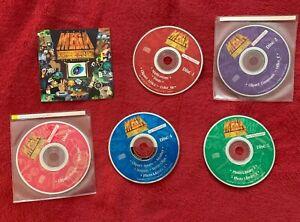ClipArt Corel Mega Gallery Royalty Free Images - 5 CDROM SET Macintosh MAC