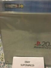 20th Anniversary SONY PS4  JAPAN RELEASE VGA 95 UNCIRCULATED ARCHIVAL CASE