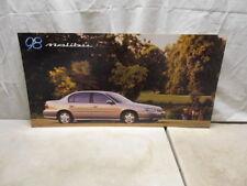 1998 Chevrolet Malibu Dealer Showroom Display Dealership Sign Poster 34X17