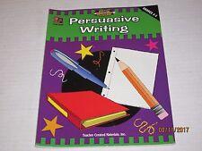 Persuasive Writing, Grades 3 4 5 (Meeting Writing Standards Series) jk200