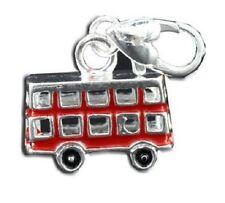 Finitura Argento Rosso Bus Londra a Clip Fascino