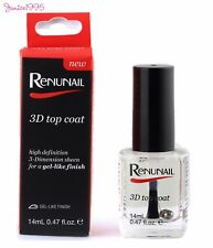 RENUNAIL 3D Dr Lewinns Top Coat High Definition 3D Sheen For a Gel Like Finish