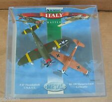 Italy Battle BF-109 Messerschmitt Luftwaffe & P-47 Thunderbolt U.S.A.A.F 1:100
