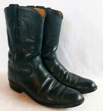 Ladies Justin Roper Boots Blue Size 7B