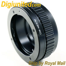 Olympus OM lens to Sony E mount NEX adapter Macro focusing helicoid 5R 7 A6000