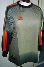 Fantastico conservato Adidas Maglia da portiere Oliver Kahn Climalite, vintage, tg S