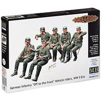 Masterbox 1:35 - Germaninfantry Off To The Front Veh… - Scale German Infantry