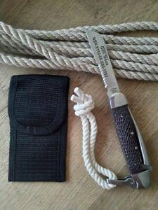 Genuine US Navy Bosun Rigging Knife #1757 - made in USA Lifetime Warranty (NEW!)