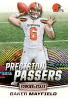 2018 Panini Rookies & Stars Precision Passers Baker Mayfield #PP-16 Rookie