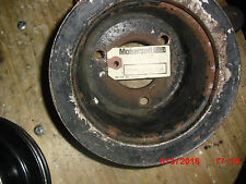 1967-68 Ford Merury Good Used 260,289 2 Sheeve Crankshaft Pulley-C7AZ-6A312-A