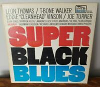 Super Black Blues II Vinyl Record Gatefold Thomas Walker Vinson Turner VG/VG+