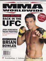 MMA Worldwide Mag Vitor Belfort Brian Bowles 2009 081319nonr