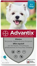 Advantix petit chien (4-10 kg) - 6 pipettes