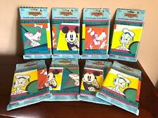 NOS (8) MICKEY MOUSE & FRIENDS Wallpaper BORDER Roll DISNEY DECOR Vintage SEALED