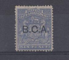 BCA 1891 6d SG5 Mint On Card J9012