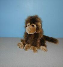 "1998 Ty Classic 10"" Fuzzy Shimmer Cha Cha The Monkey Bean Stuffed Plush Animal"