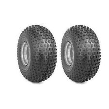 (2) GO KART  MINI BIKE TIRES  145 70 6  Set of 2 tires ONLY