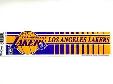 Los Angeles Lakers Bumper Sticker/Strip (NBA)(Wincraft)